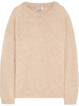 Acne Studios Dramatic Knitted Sweater - Beige