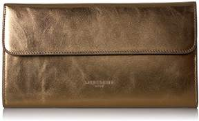 Liebeskind Berlin Women's Mariaw7 Metallic Leather Envelope Clutch