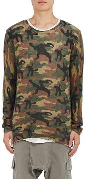 NSF Men's Camouflage Wool-Cashmere Sweater