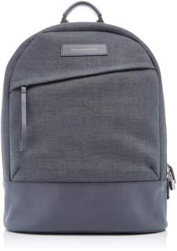 WANT Les Essentiels Kastrup Grey Canvas Backpack