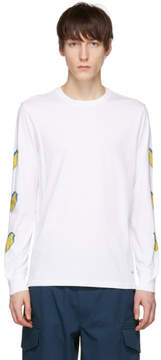 Paul Smith White Long Sleeve Popsicle T-Shirt