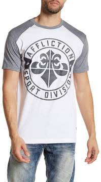 Affliction Sport USA Short Sleeve Graphic Tee