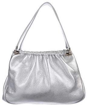 Lambertson Truex Metallic Leather Naomi Bag