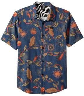 Volcom Broha Short Sleeve Shirt Boy's Short Sleeve Button Up