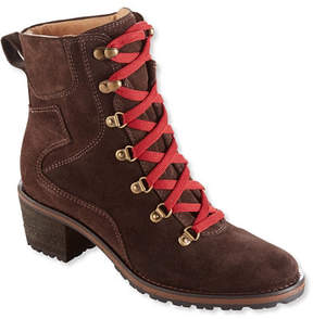 L.L. Bean Women's Deerfield Alpine Boots, Lace-Up Mid
