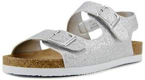 Rachel Rainey Youth Open Toe Synthetic Silver Sandals.