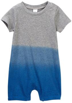 Nordstrom Short Sleeve Dip Dye Coverall (Baby Boys)