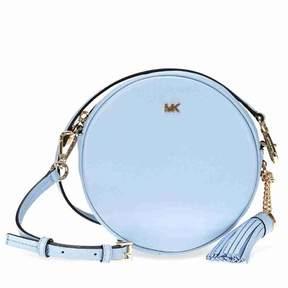 Michael Kors Mercer Medium Canteen Crossbody Bag- Pale Blue - ONE COLOR - STYLE