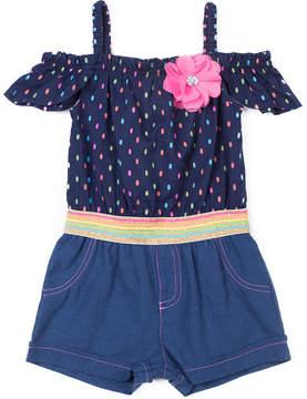 Little Lass Short Sleeve Romper - Toddler