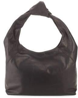 Donna Karan Kali Large Leather Hobo Bag