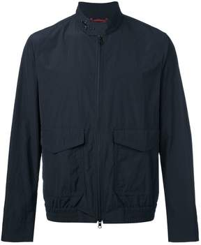 Fay zipped lightweight jacket