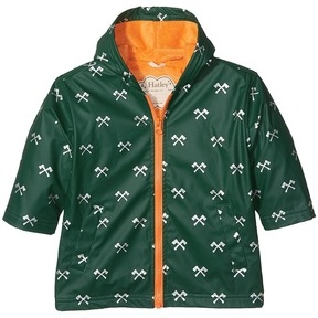 Hatley Silver Axes Splash Jacket Boy's Coat