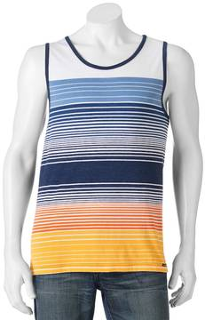 Ocean Current Men's Striped Tank Top