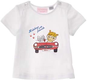 Chicco Girls' White T-Shirt