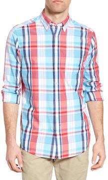 Gant Madras Plaid Fitted Sport Shirt