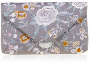 La Regale Embroidered Clutch