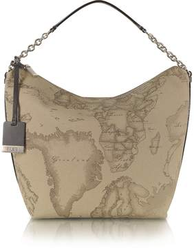 Alviero Martini 1a Prima Classe - Geo Printed Medium Contemporary Shoulder Bag