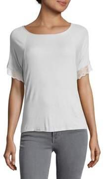 Eberjey Lottie Short Sleeve Top