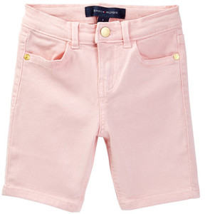 Tommy Hilfiger Colored Stretch Bermuda Short (Toddler Girls)