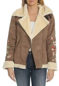 Driftwood Faux Shearling Coat