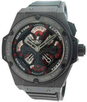 Hublot King Power 771.C1.1170.RX Unico GMT Automatic Rubber Mens Watch