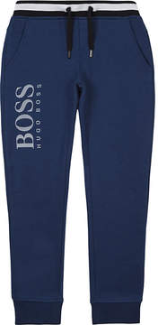 BOSS Logo cotton joggers 4-16 years