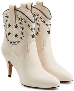 Marc Jacobs Georgia Leather Cowboy Boots