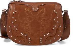 Ralph Lauren Western Suede Crossbody Bag