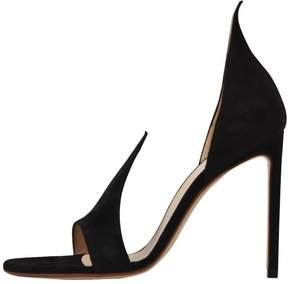 Francesco Russo 10,5cm Flame Sandal