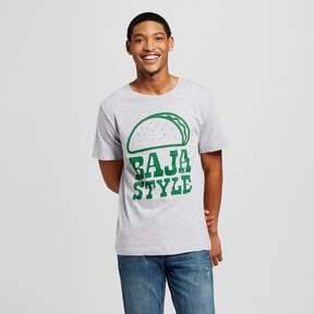 Awake Men's San Diego Baja Style T-Shirt - Heather Gray