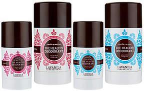 LAVANILA Set of 4 Aluminum-Free Deodorant