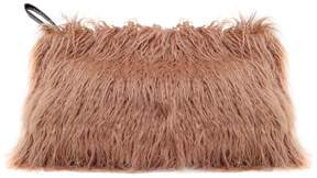 Dries Van Noten Faux Mongolian-fur Clutch