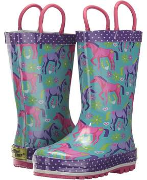 Western Chief Hannah Horse Rain Boots Girls Shoes
