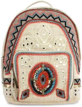 Sam Edelman Women's Rashida Woven Backpack