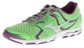 Mizuno Womens Wave Hitogami Low Top Lace Up Running Sneaker.