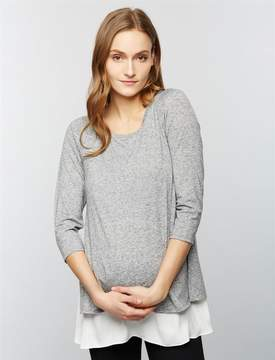 A Pea in the Pod Lift Up Babydoll Nursing Top