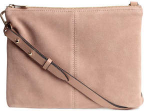 H&M Small Bag with Suede Details - Beige