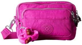 Kipling Multiple Belt Crossbody Bag Messenger Bags - VERY BERRY - STYLE