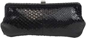 Lambertson Truex Python clutch bag