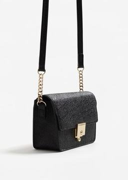MANGO Flap cross-body bag