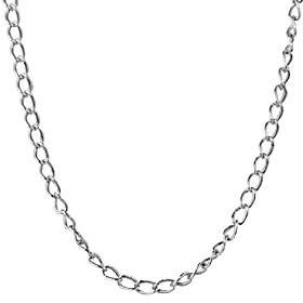 American West Sterling 22 Antiqued Cable Chain