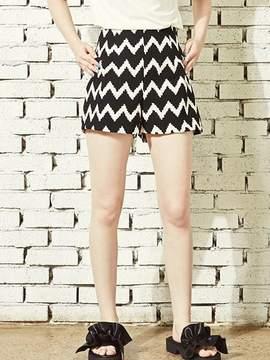 Blank 61 Print Shorts-bk