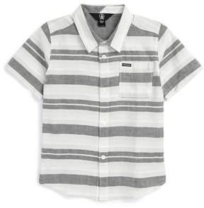 Volcom Camper Stripe Shirt (Toddler & Little Boys)