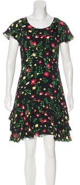 Creatures of Comfort Floral Print Mini Dress w/ Tags
