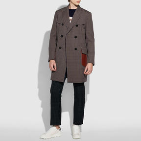Coach Wool Chesterfield Coat
