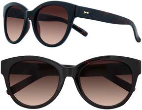 Lauren Conrad 56mm Tamarind Cat-Eye Gradient Sunglasses