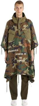 MHI World Tour Quilted Camo Nylon Poncho