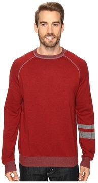 Agave Denim Folsom Long Sleeve Supima Fine Gauge Men's Long Sleeve Pullover