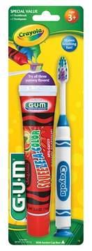 Crayola SUNSTAR GUM® Crayola Toothbrush and Toothpaste -