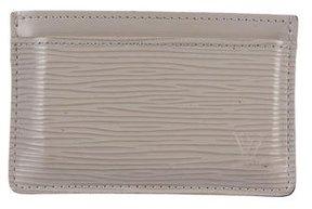 Louis Vuitton Epi Card Holder - GREY - STYLE